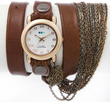 fashion наручные  женские часы La Mer LMMULTI2001X. Коллекци С цепочками и подвесками