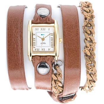 fashion наручные  женские часы La Mer LMMULTI8008X. Коллекция С цепочками и подвесками
