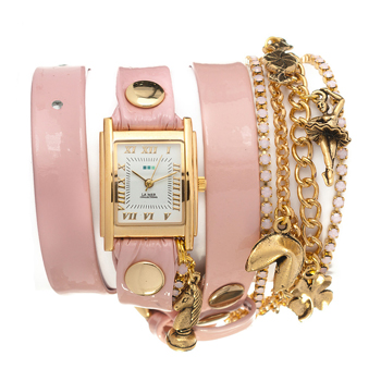 fashion наручные  женские часы La Mer LMMULTI9003. Коллекция С цепочками и подвесками