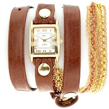 fashion наручные  женские часы La Mer LMMULTICW1018B. Коллекци С цепочками и подвесками