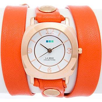 fashion наручные  женские часы La Mer LMODY3003X. Коллекци На длинном ремешке