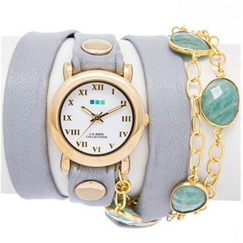 fashion наручные женские часы La Mer LMSBY004. Коллекция На длинном ремешке