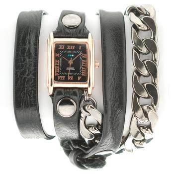 fashion наручные  женские часы La Mer LMSCW6003. Коллекци С цепочками и подвесками