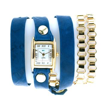 fashion наручные  женские часы La Mer LMSCW7007A. Коллекция С цепочками и подвесками