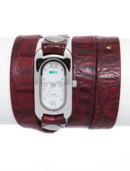 fashion наручные  женские часы La Mer LMSOHO3003. Коллекци На длинном ремешке