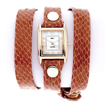 fashion наручные  женские часы La Mer LMSTW6003. Коллекци На длинном ремешке
