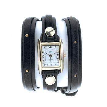 fashion наручные  женские часы La Mer LMSW1001. Коллекция С клепками