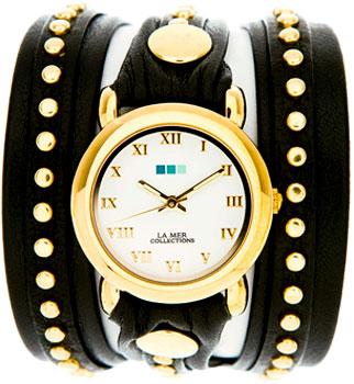 fashion наручные  женские часы La Mer LMSW3002X. Коллекция С клепками