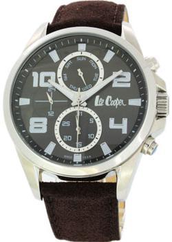fashion наручные мужские часы Lee Cooper LC-22G-B. Коллекция Greenwich