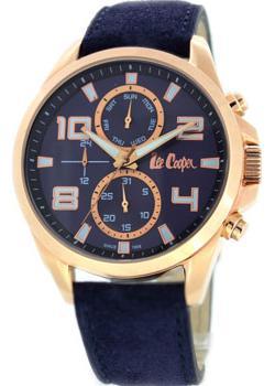 fashion наручные мужские часы Lee Cooper LC-22G-F. Коллекция Greenwich