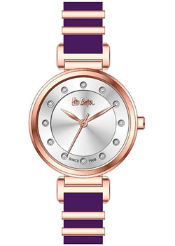 fashion наручные  женские часы Lee Cooper LC06403.438. Коллекция Casual