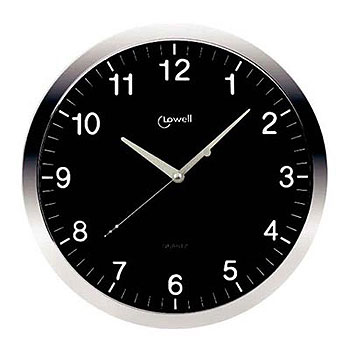 Настенные часы  Lowell 00610N. Коллекция Metal