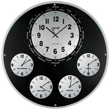 Настенные часы  Lowell 05621. Коллекция Multifunction