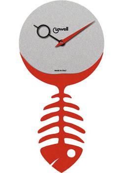 Настенные часы  Lowell 05853R. Коллекция Metal
