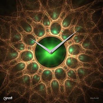 Настенные часы  Lowell 07401. Коллекция Glass