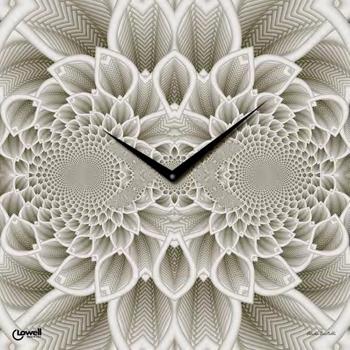 Настенные часы  Lowell 07402. Коллекция Glass