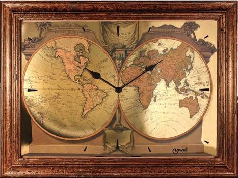 мужские часы Lowell 11227. Коллекция Часы-картины
