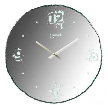 Настенные часы  Lowell 11804. Коллекция Glass