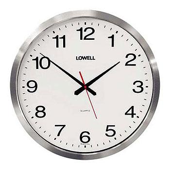 Настенные часы  Lowell 16055. Коллекция Metal