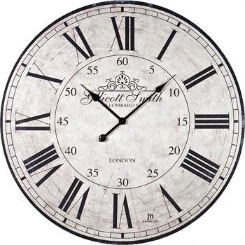 Настенные часы  Lowell 21434. Коллекция Glass