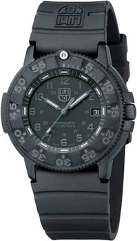 Швейцарские наручные мужские часы Luminox XS.3001.BO. Коллекция Sea