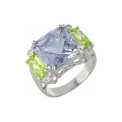 Серебряное кольцо  100211