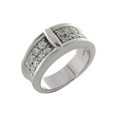 Серебряное кольцо  100229