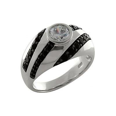 Серебряное кольцо  100230
