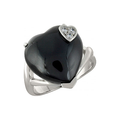 Серебряное кольцо  100231