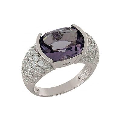 Серебряное кольцо  Ювелирное изделие 100869
