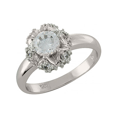 Серебряное кольцо  100885