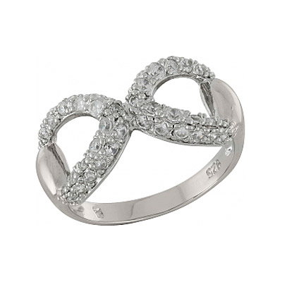 Серебряное кольцо  100890