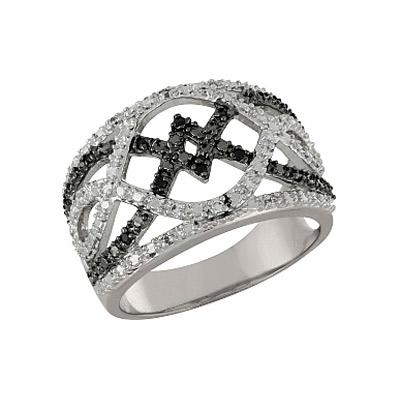 Серебряное кольцо  100903