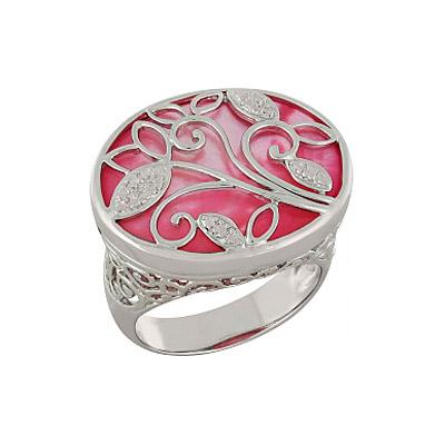 Серебряное кольцо  Ювелирное изделие 100905
