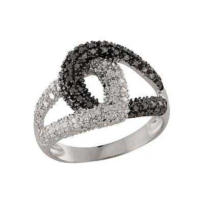 Серебряное кольцо  100908