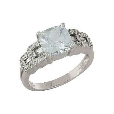 Серебряное кольцо  100916