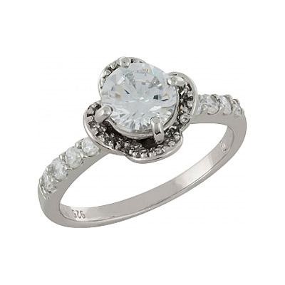 Серебряное кольцо  100921