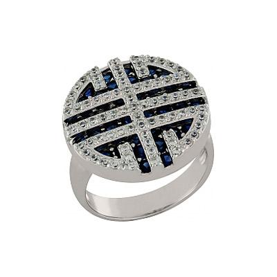 Серебряное кольцо  100923