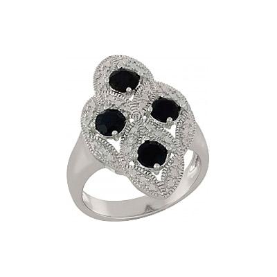Серебряное кольцо  101109