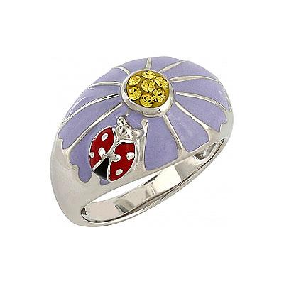 Серебряное кольцо  106168