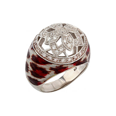 Серебряное кольцо  106170