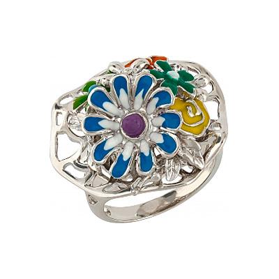 Серебряное кольцо  106178