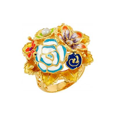 Серебряное кольцо  106180