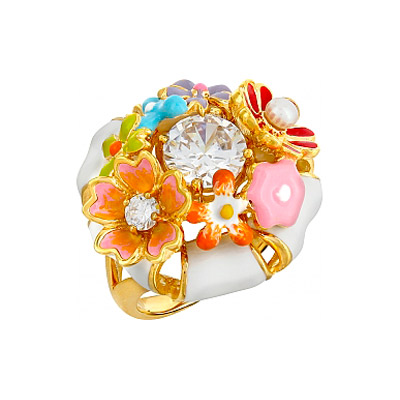 Серебряное кольцо  106186