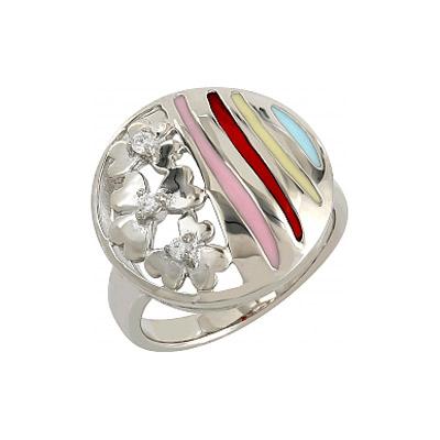 Серебряное кольцо  106221