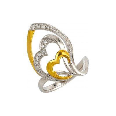 Серебряное кольцо  106222