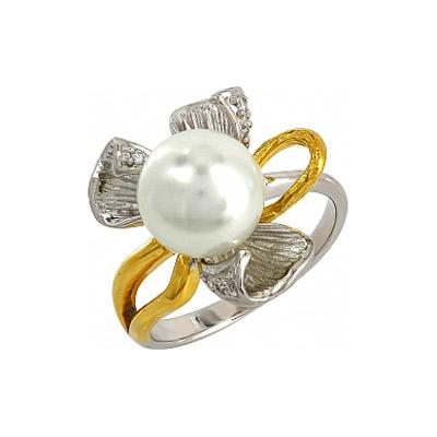Серебряное кольцо  106225