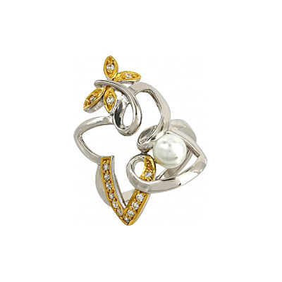 Серебряное кольцо  106229
