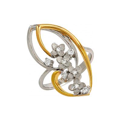 Серебряное кольцо  106230