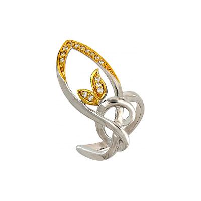 Серебряное кольцо  106231